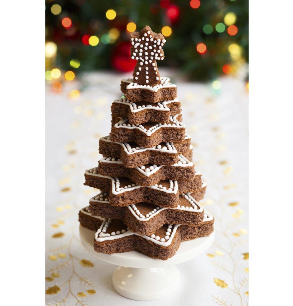 perníkový stromek s čokoládou