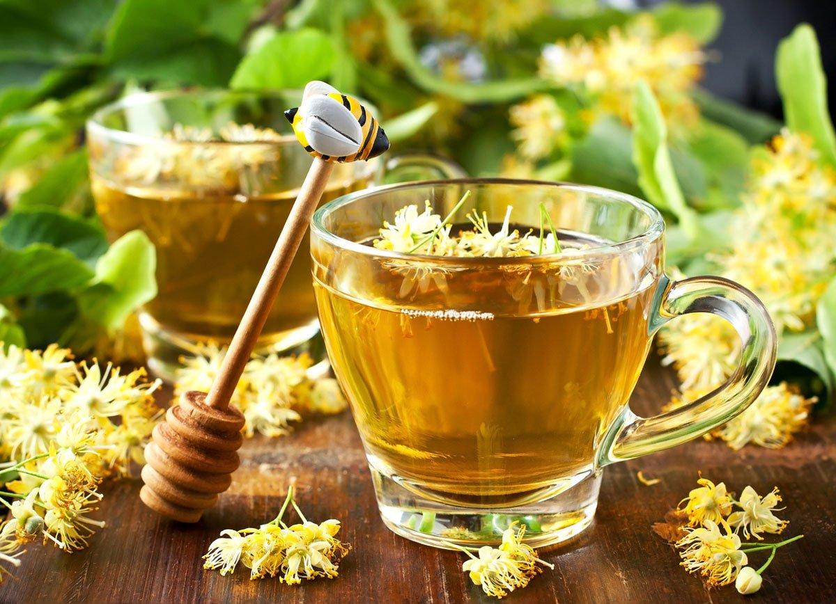 Přírodní medicíny proti nachlazení a chřipce: Lipový čaj