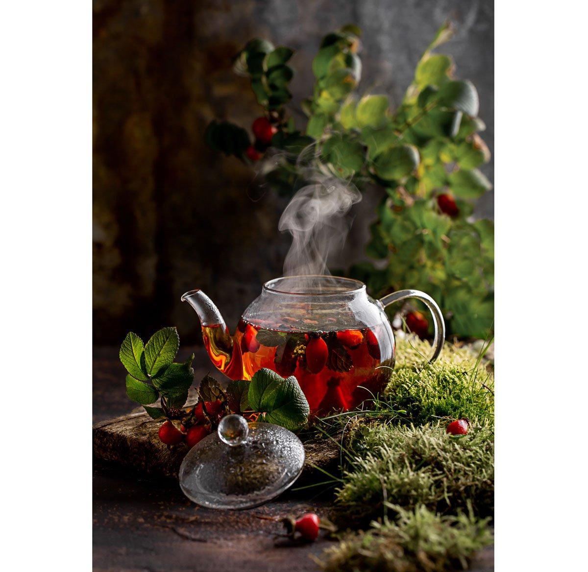 Přírodní medicíny proti nachlazení a chřipce: Šípkový čaj