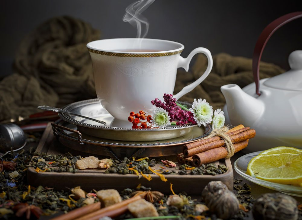 Přírodní medicíny proti nachlazení a chřipce: Čaje z bylinek