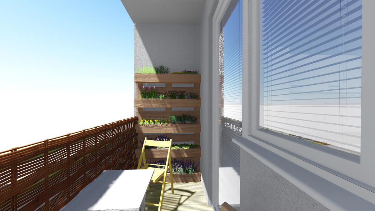 preomena balkonu