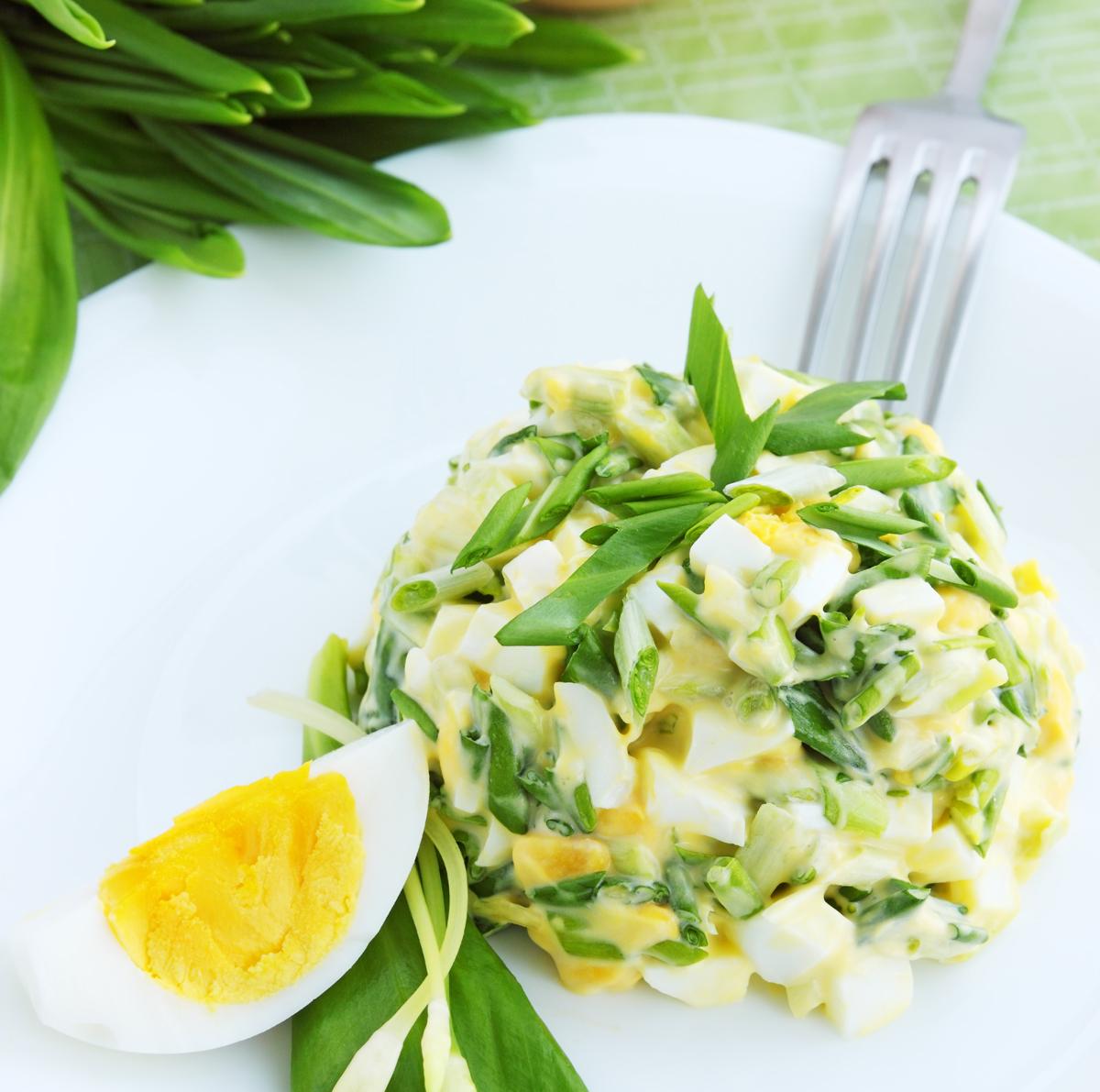 Lehký vaječný salát