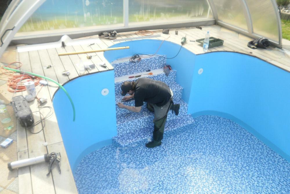 rekonstrukce bazenu