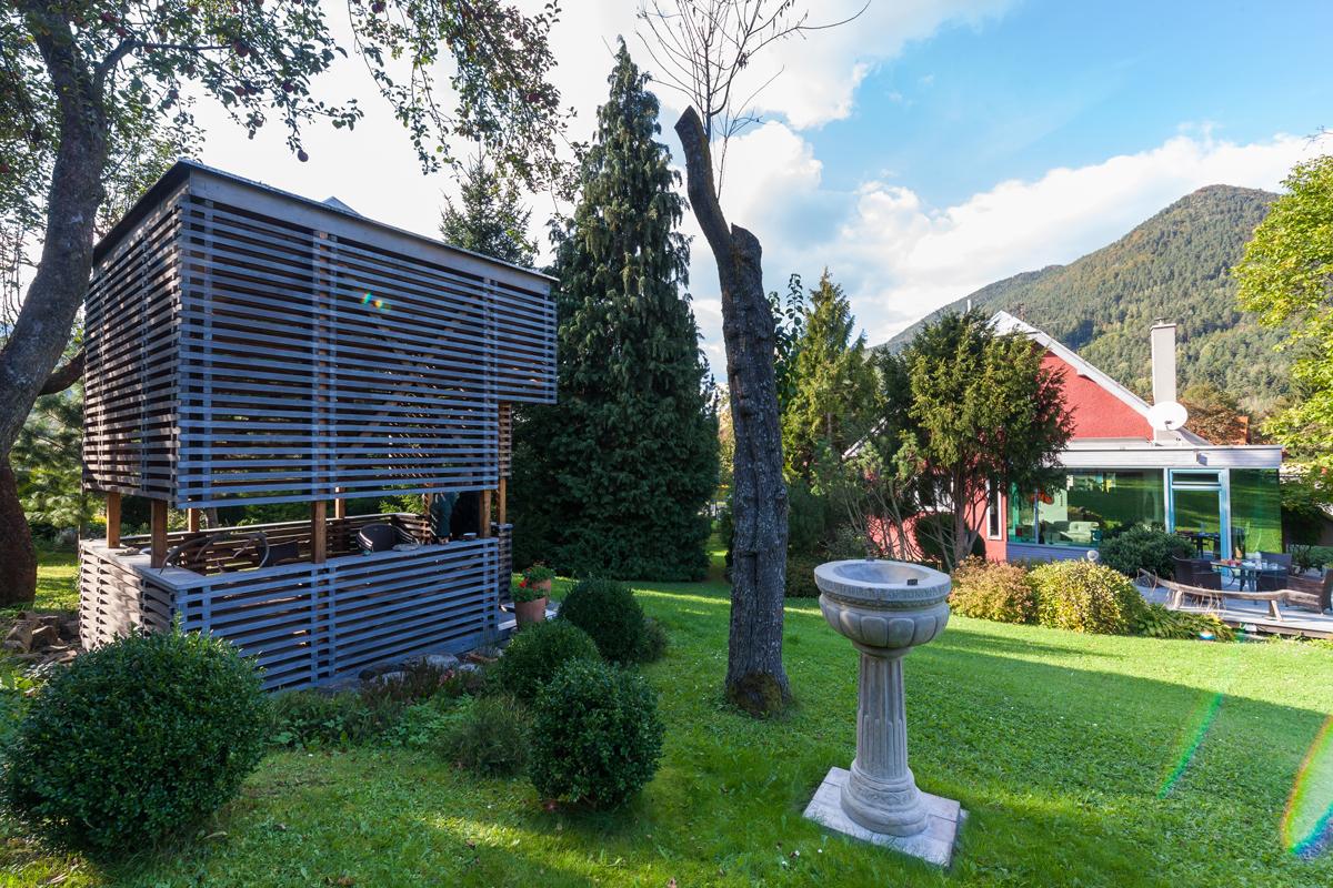 zahradní altánek