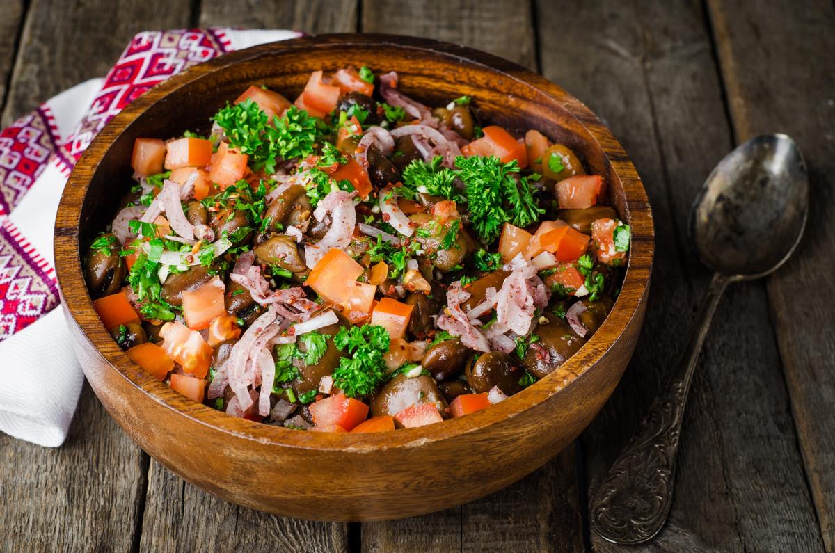 bobový salát