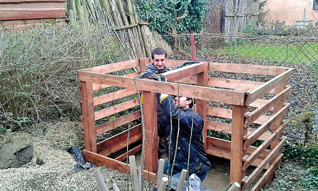zahradní kompostér