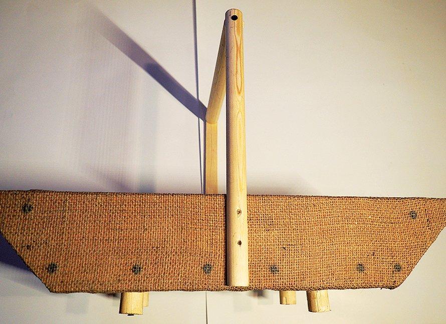 dřevěná bednička