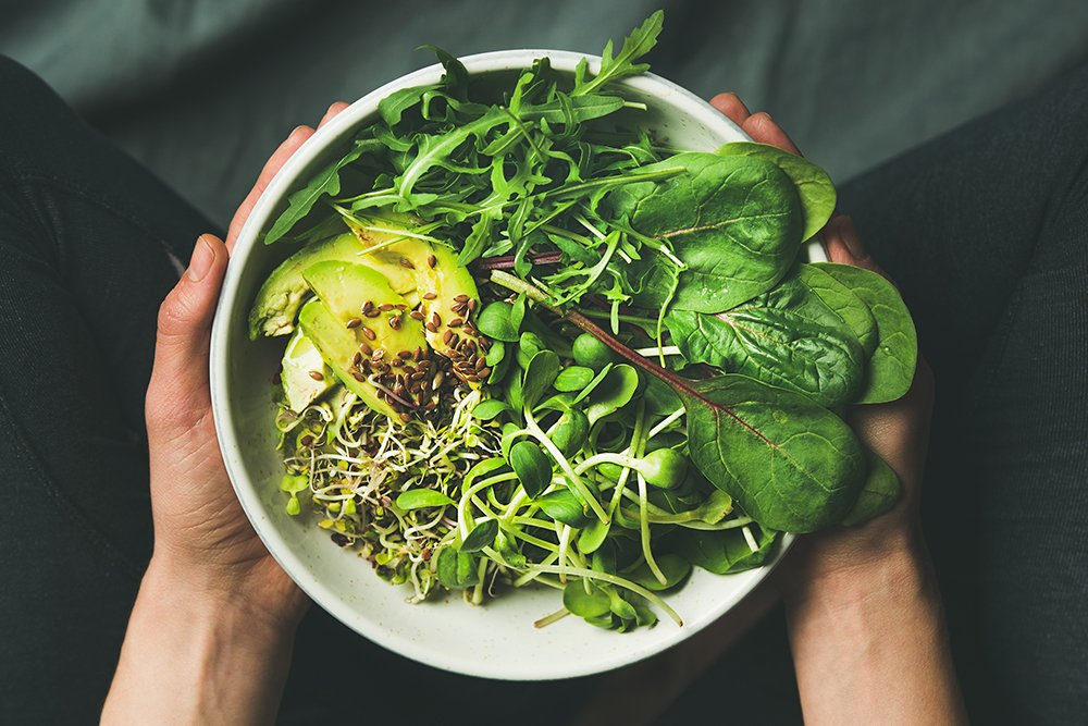 listové saláty