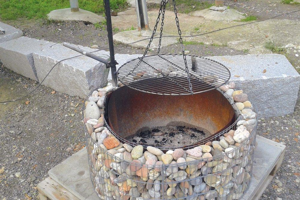 gabionový gril