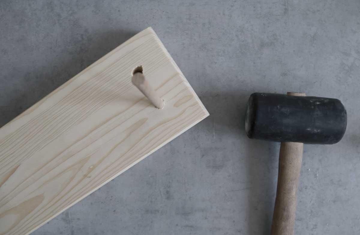 dřevěné letadélko