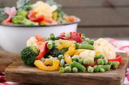 Zpracování zeleniny aovoce: Mražené polotovary ajídla