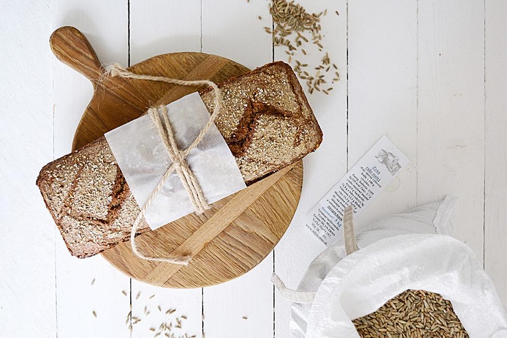 domácí kváskový chléb