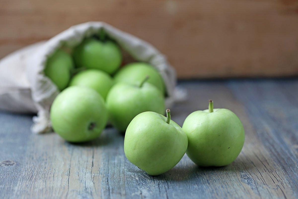 zpracování jablek