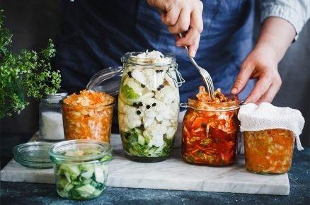 Zpracování zeleniny: Konzervování na přírodní způsob