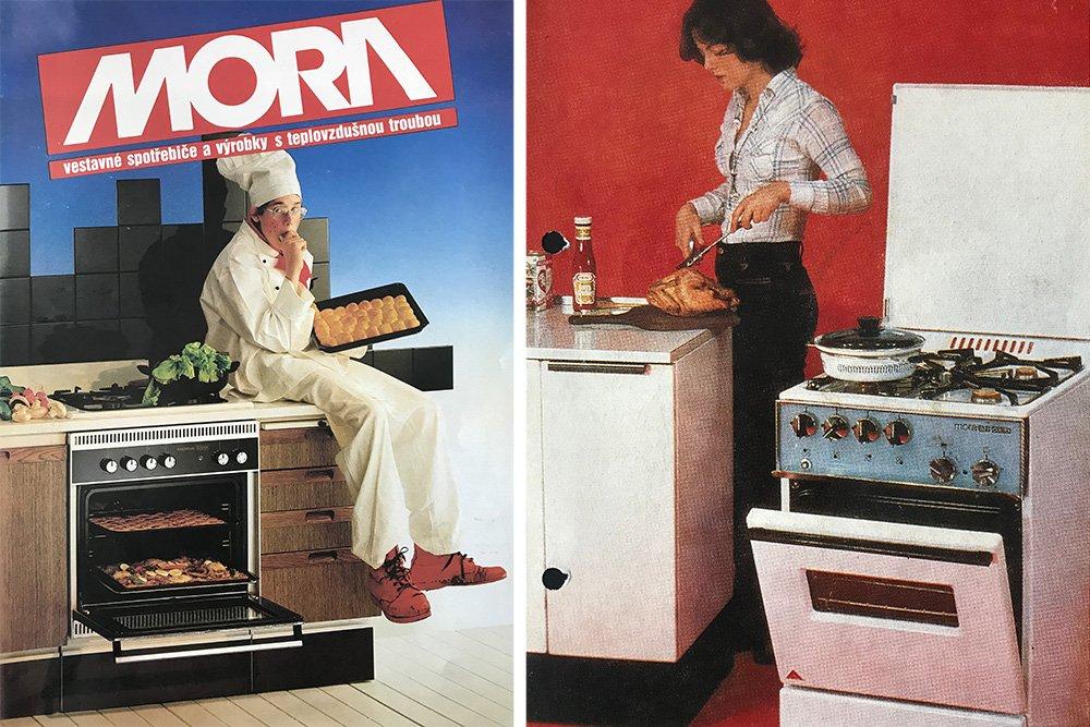 historie spotřebičů MORA