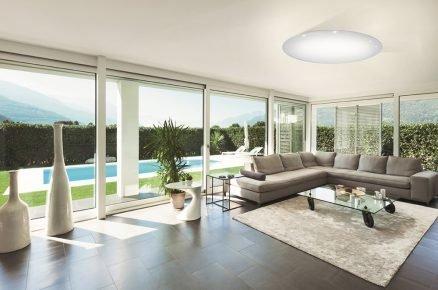 Stropní LED svítidla: efektivní osvětlení vašeho domova