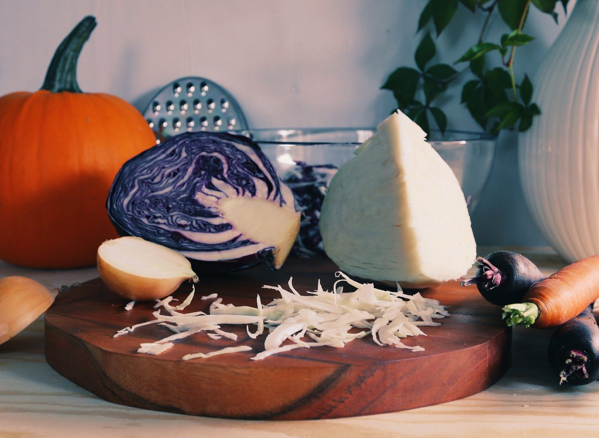 fermentovana zelenina