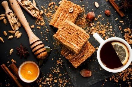 Zdravá verze pro milovníky marlenky: Medová marlenka po domácku