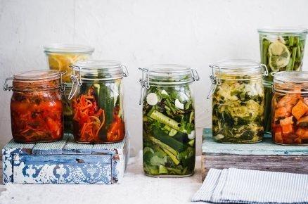 Recepty kvašených zeleninových směsí