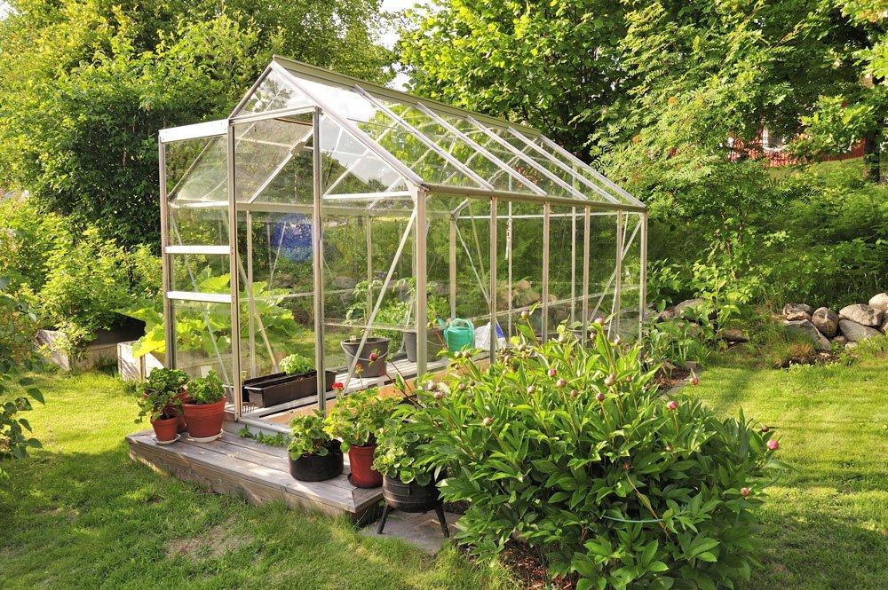 skleník, předjarní výsadba
