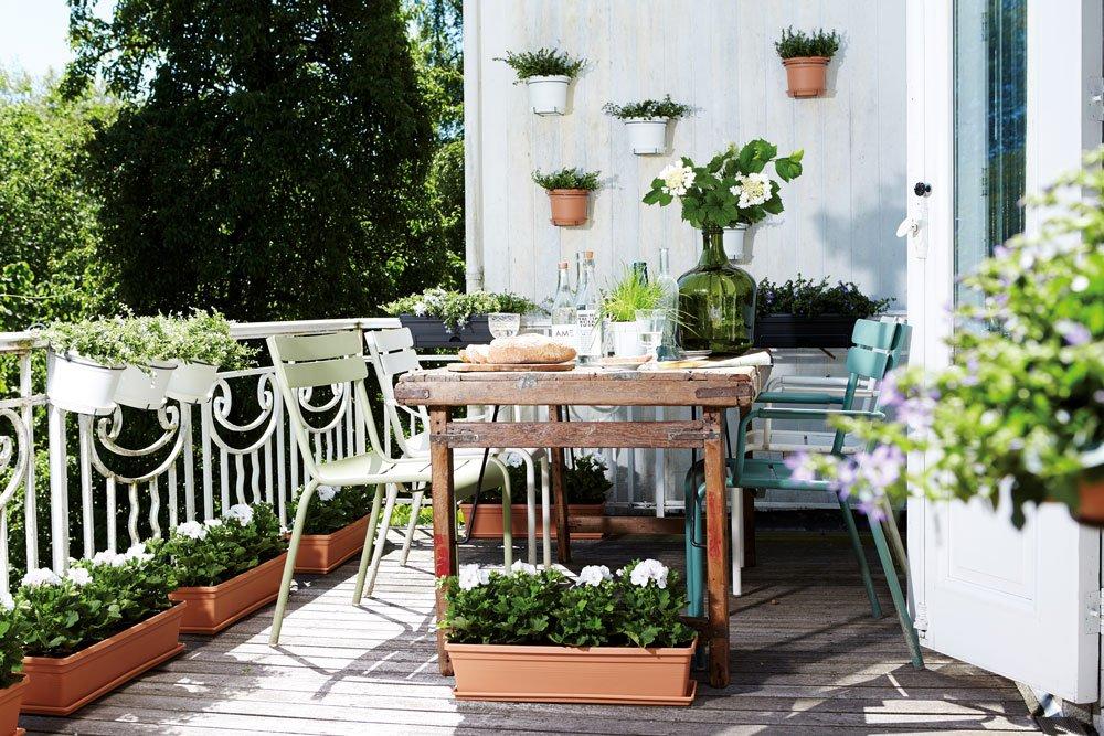 Hornbach, zahrada na balkoně