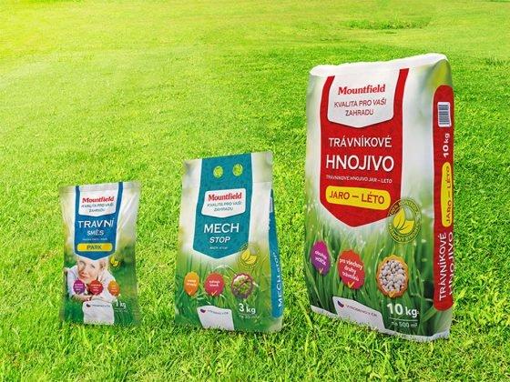 trávníkové osivo, mountfield