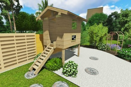 Jak postavit zahradní domek (nejen) pro děti