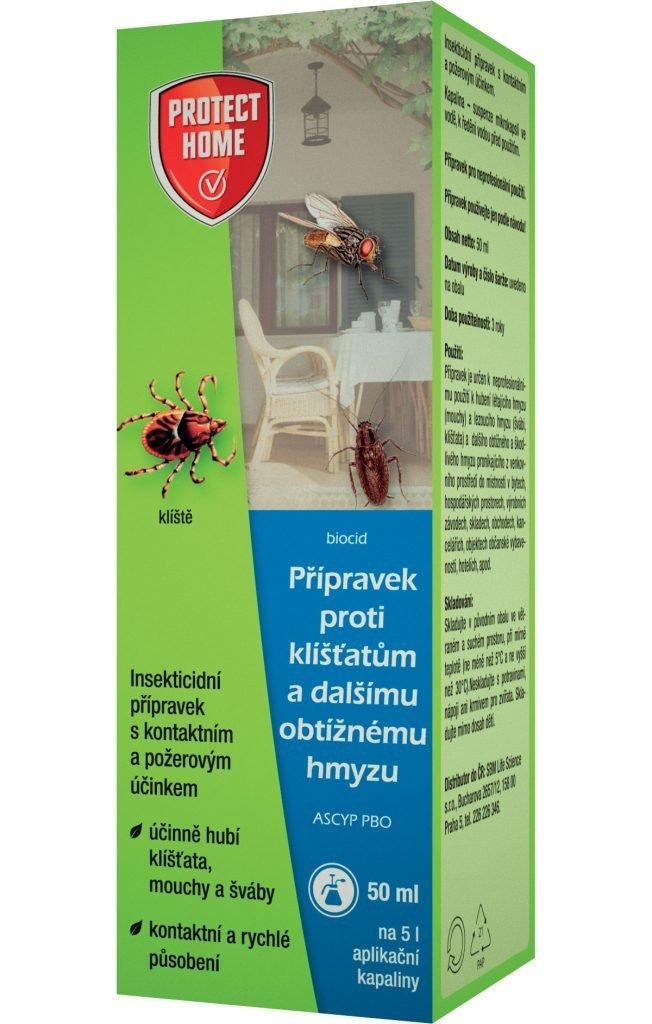 ochrana proti klíšťatům
