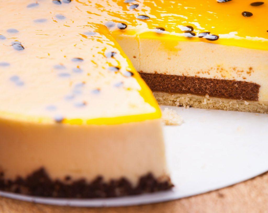 poleva na cheesecake