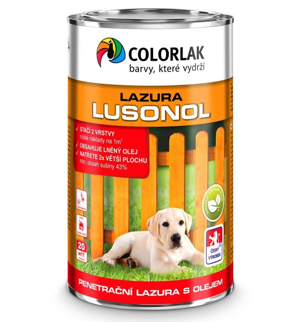 penetrační lazura s olejem LUSONOL S1023
