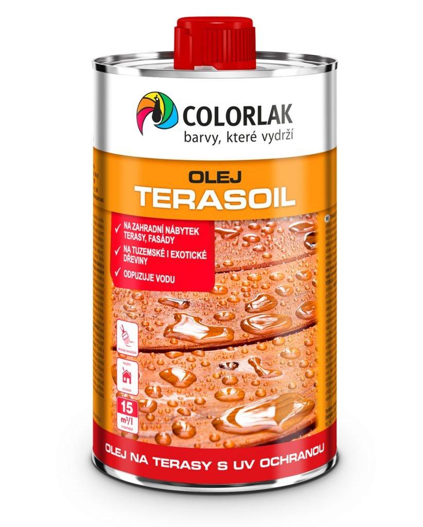 TERASOIL O1014 - olej na terasy s UV ochranou