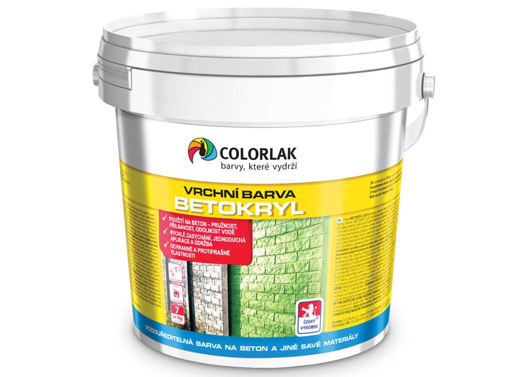 Colorlak Betokryl barva na beton