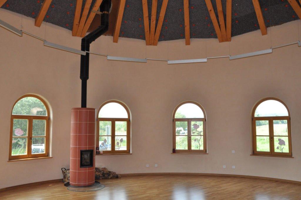 hliněné omítky v interiéru