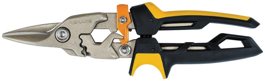 Převodové nůžky na střihání plechu