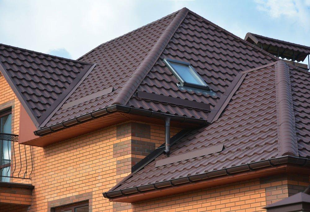 úžlabí na střeche