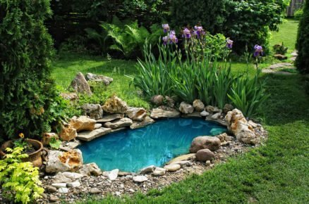 Jak na výstavbu zahradního jezírka