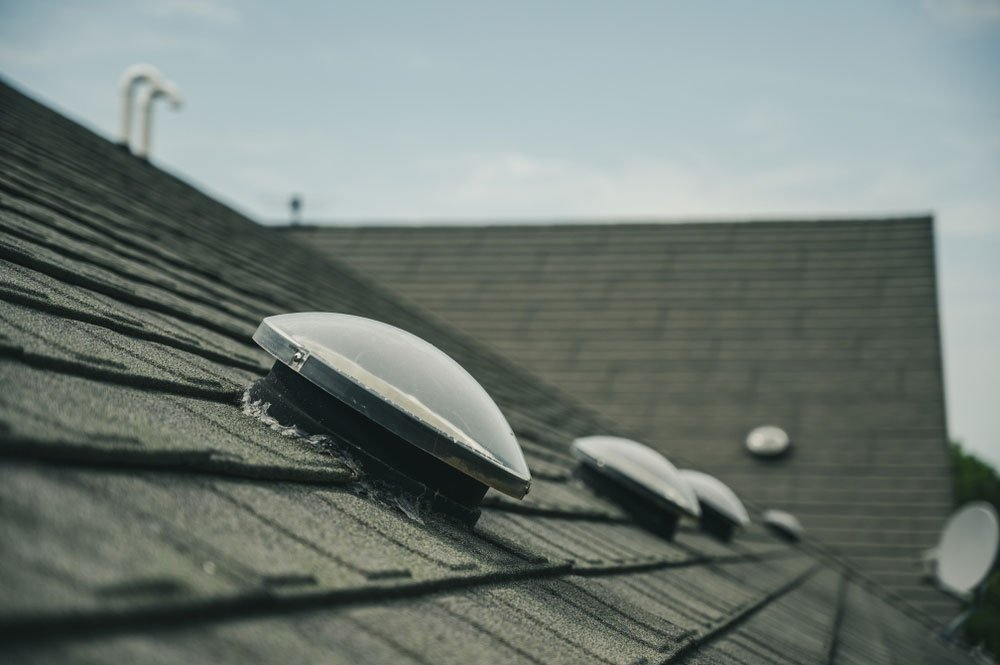 světlovod na střeše