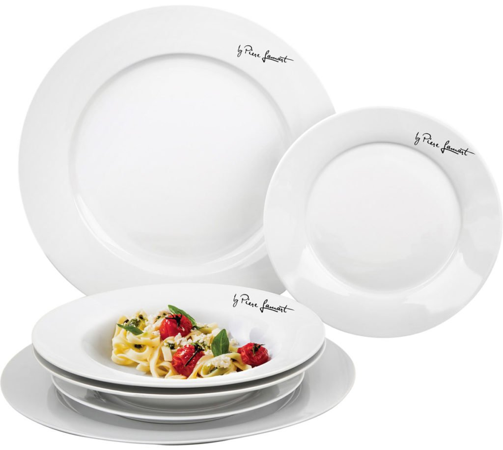 sada jídelných talířů