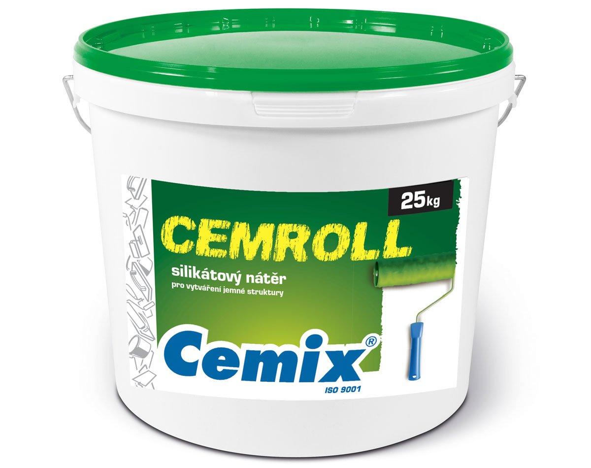 fasádní nátěr Cemix Cemroll silikát