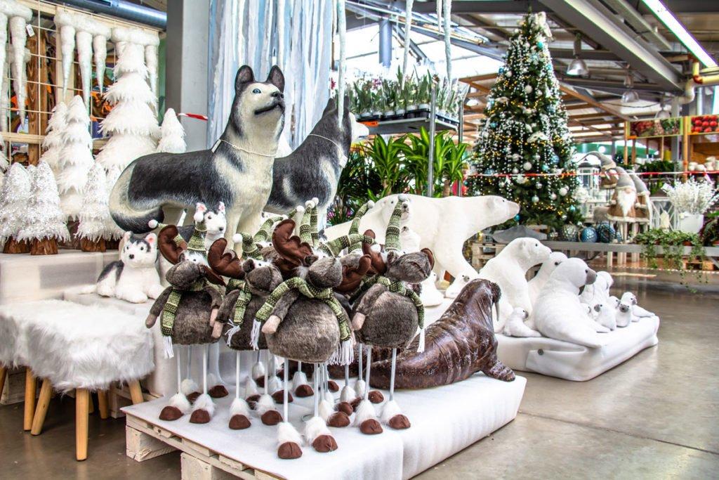 polární Vánoce, zboží Hornbachu