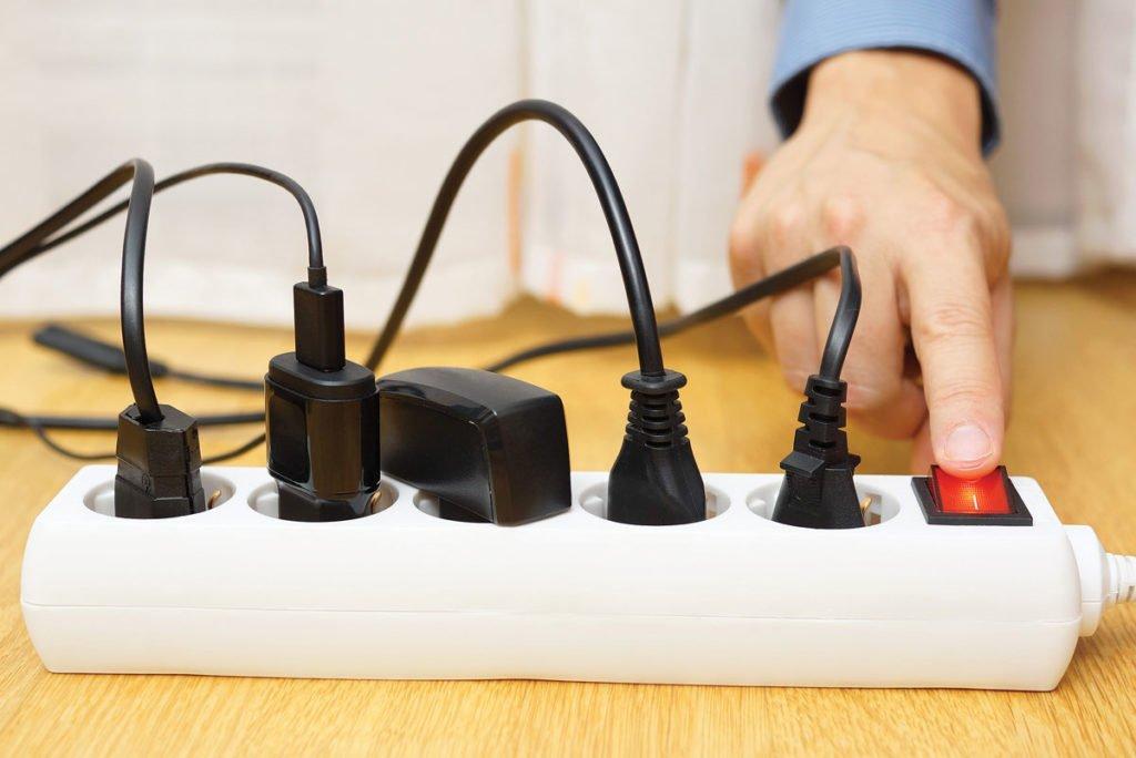 rozvodka s vypínačem