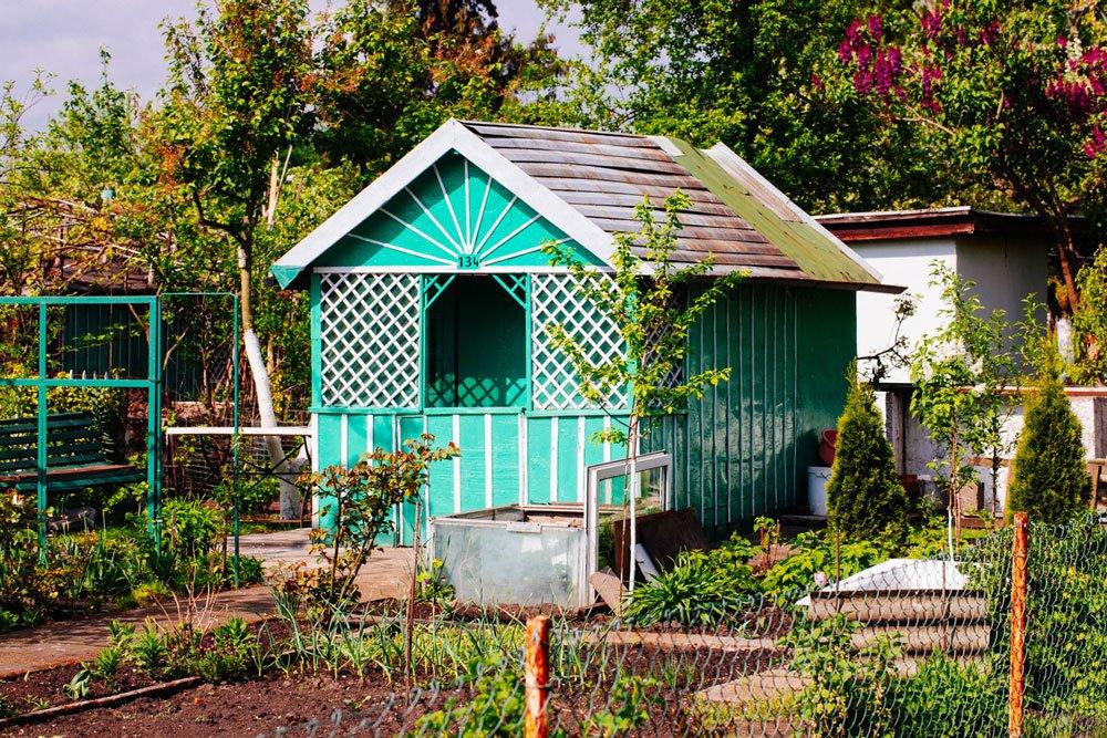 vybíráme zahradní domek