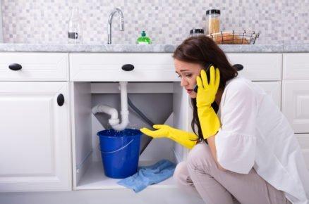 Jak zabránit únikům vody: Umyvadlo