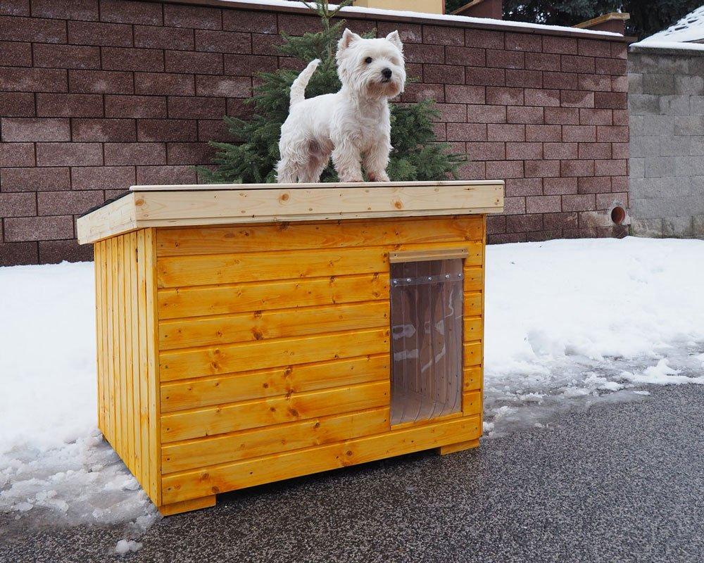 Jak vyrobit zateplenou boudu pro psa