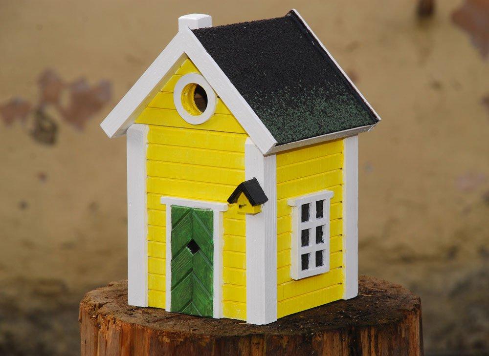 Návod na dřevěnou ptačí budku