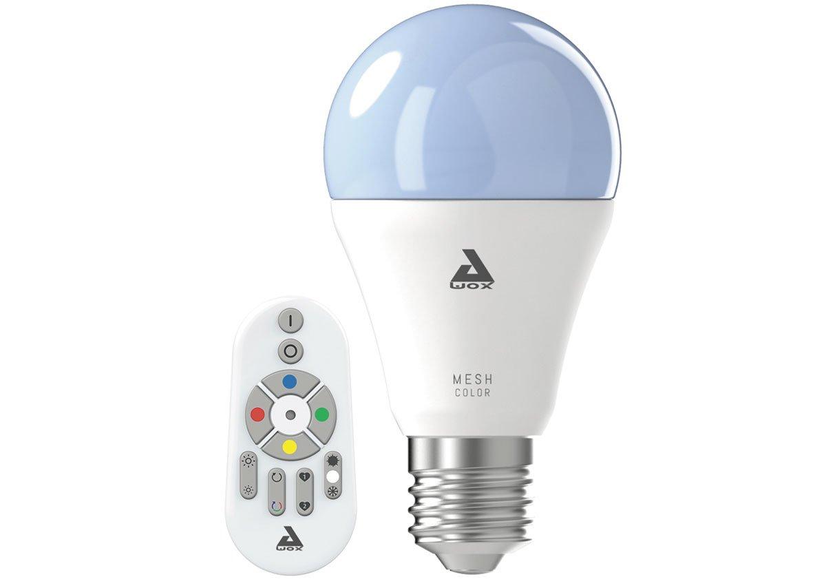 Bluetooth komunikační protokol: Inteligentní osvětlení Eglo v podobě inteligentní žárovky a dálkového ovládání