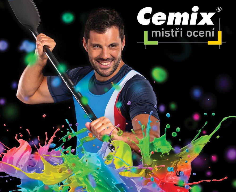 Josef Dostál je nová tvář značky Cemix