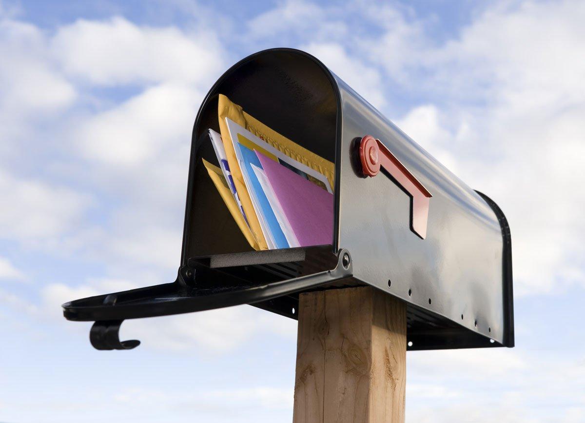 Zabezpečení domácnosti proti zlodějům: poštovní schránka.