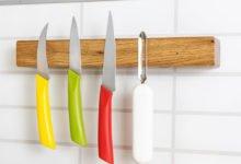 Magnetický držák na kuchyňské nože