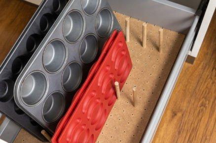 výroba organizéru do zásuvky